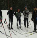 Der größte Schneemann hat uns in Klingenthal/Mühlleiten begrüßt