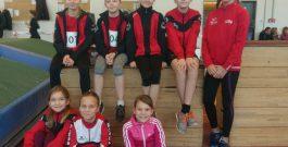 Regionalhallenmeisterschaften Mehrkampf der U12 / Landesmeisterschaften im Winterwurf