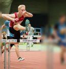 Bei den Mitteldeutsche Hallenmeisterschaften in Erfurt …